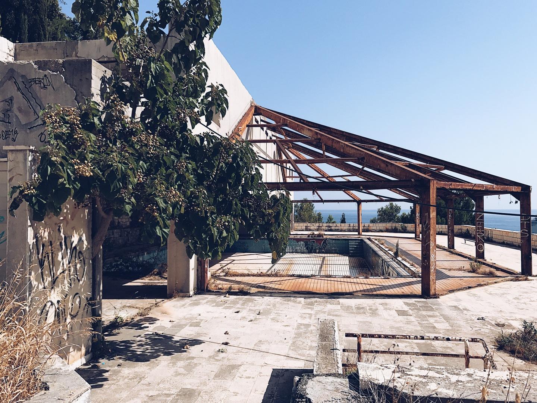 abandoned hotel in dubrovnik belvedere
